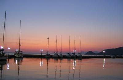 Lesbos  - Vathi Samos  færgeoverfart