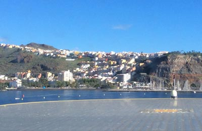 Playa Santiago færgehavn