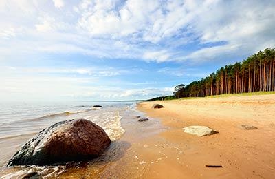 Færger til Letland