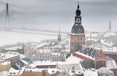 Nynäshamn - Ventspils færger