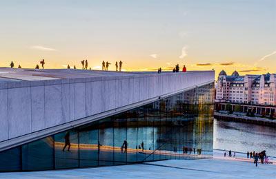 Kiel - Oslo færger