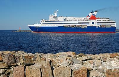 Færgehavne