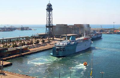 Barcelona færgehavn