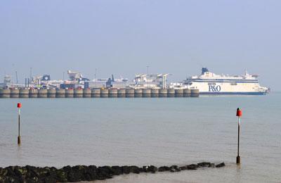 Dover færgehavn