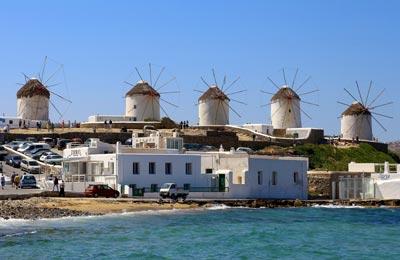 Mykonos færgehavn