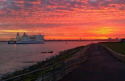 Portsmouth færgehavn