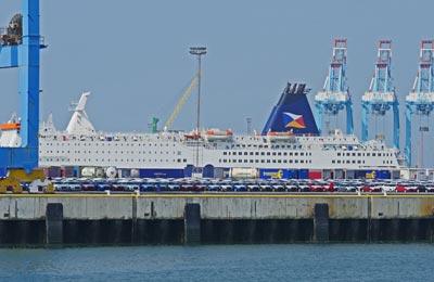 Zeebrugge færgehavn